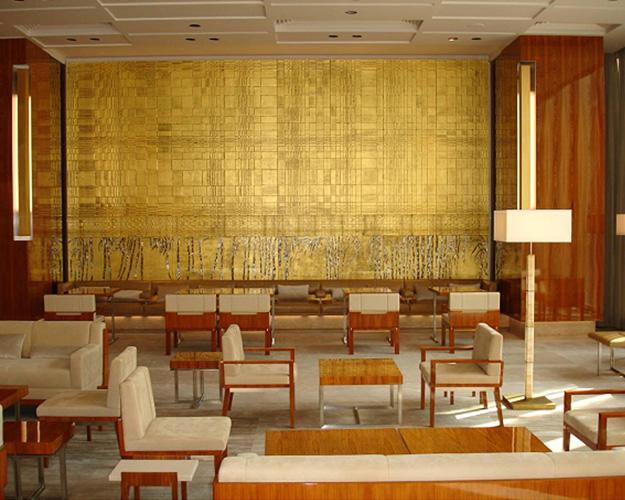 Light Gold Wall Decor : Nancy lorenz gold leaf and japanese aesthetics golden ninja